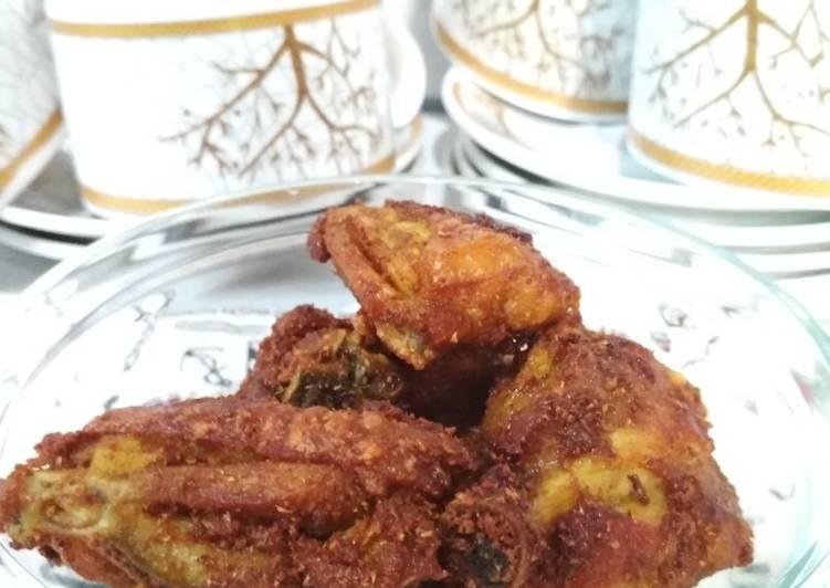Ayam goreng bumbu instan