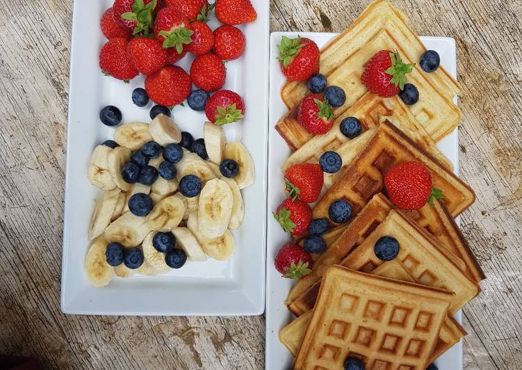 Step-by-Step Guide to Make Perfect Easy Waffles