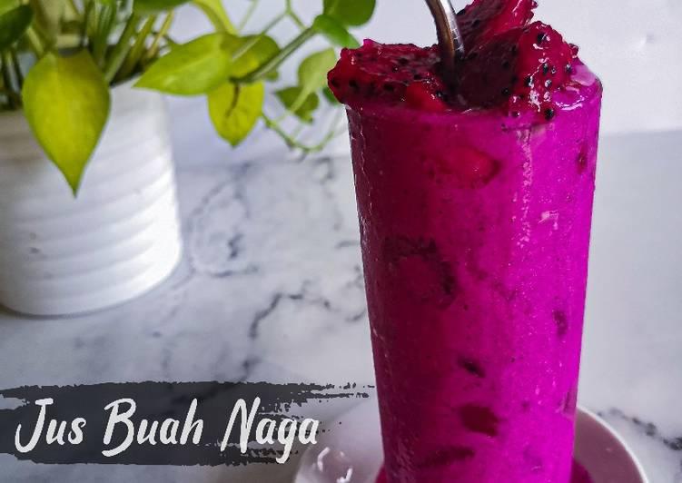 Jus Buah Naga - resepipouler.com