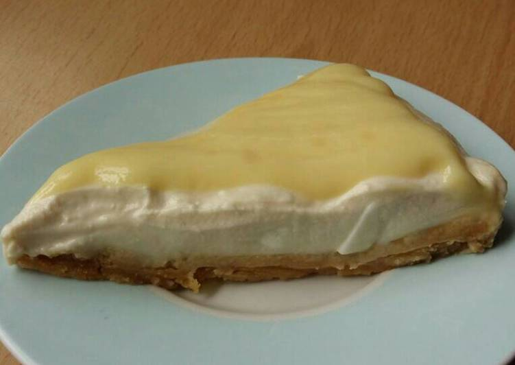 How to Make Favorite Vickys Custard Cream Cheesecake, GF DF EF SF NF