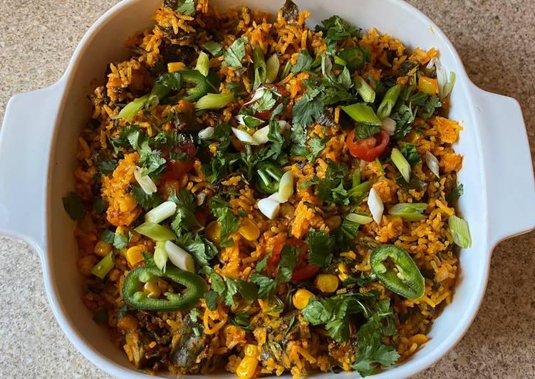 Leftover rice patra(colocasia)
