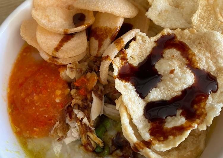 Cara Memasak Bubur Ayam Jakarta, Sempurna