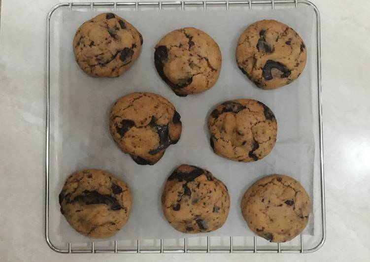 Chewy cookies tanpa mixer - cookandrecipe.com