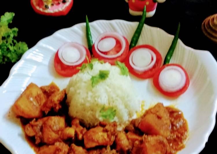 Recipe: Nice Murgir jhol (sunday spl) bengali style