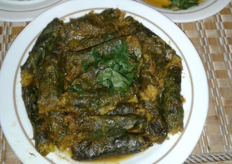 Mehshi au feuilles de salades four (régime) extra😍