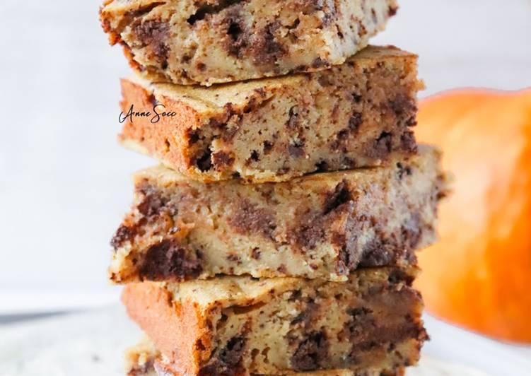Gâteau au chocolat🍫 et à la citrouille🎃