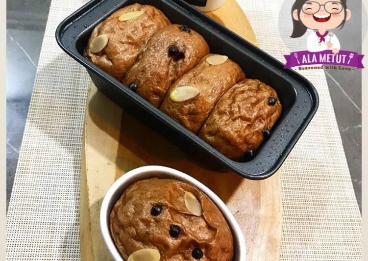 Roti Sobek Kukus Choco Vegan alaMetut 👩🍳