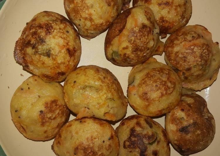 Simple Way to Make Perfect Kuzhi paniyaram
