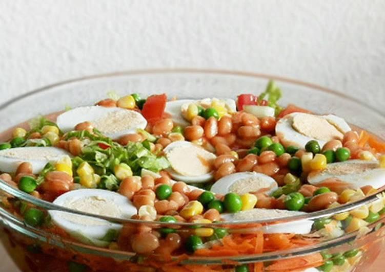 Nigerian Vegetable Salad