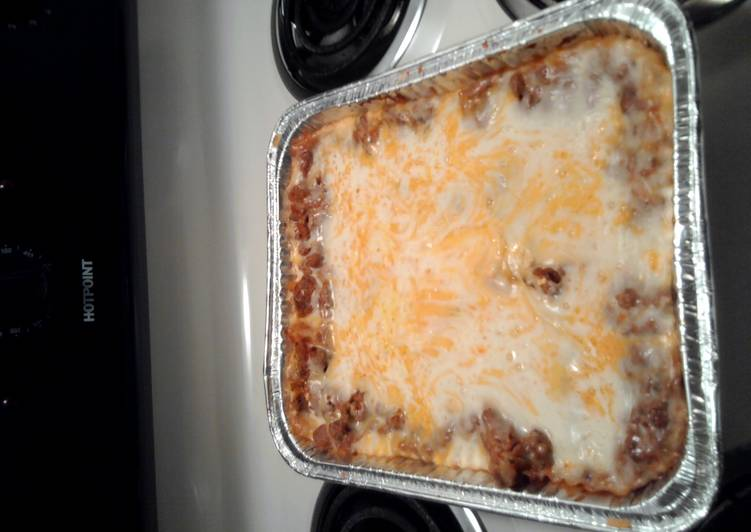 kiora's easy lasagna