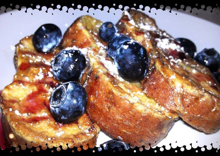 Quick and Easy Recipe: Yummy French toast