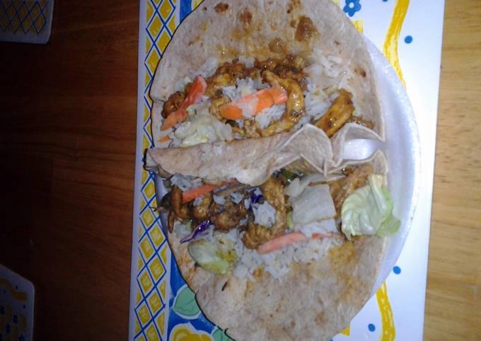 Recipe of Homemade Chicken Salad Tacos