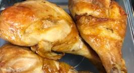 Hình ảnh món Đùi gà nướng mật ong-air fryer
