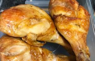 Đùi gà nướng mật ong-air fryer