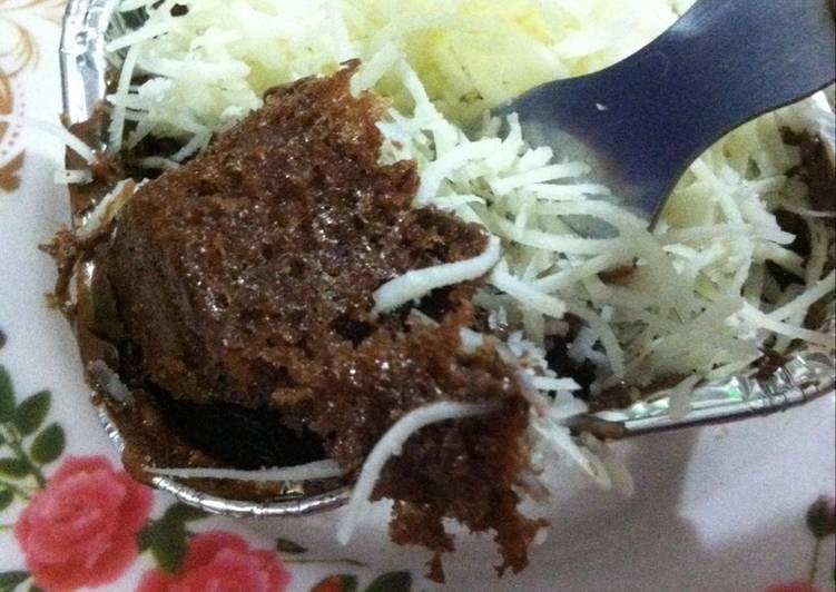Cake Singkong Cokelat