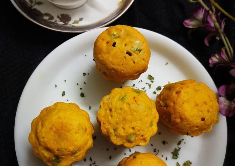 Recipe of Ultimate Peas Savoury Muffins