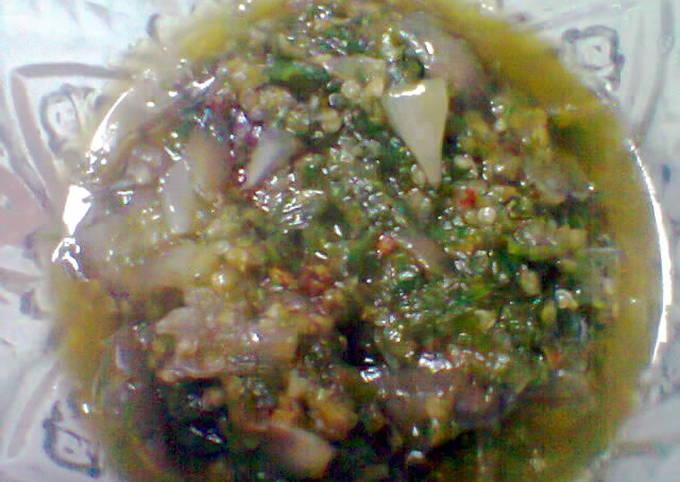 Resep Sambal brambang/bawang merah Anti Gagal