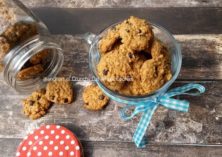 Crunchy Oat Wheat Cookies