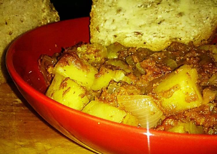 Recipe of Award-winning Tex's Corned Beef 'Tator Hash 🐮