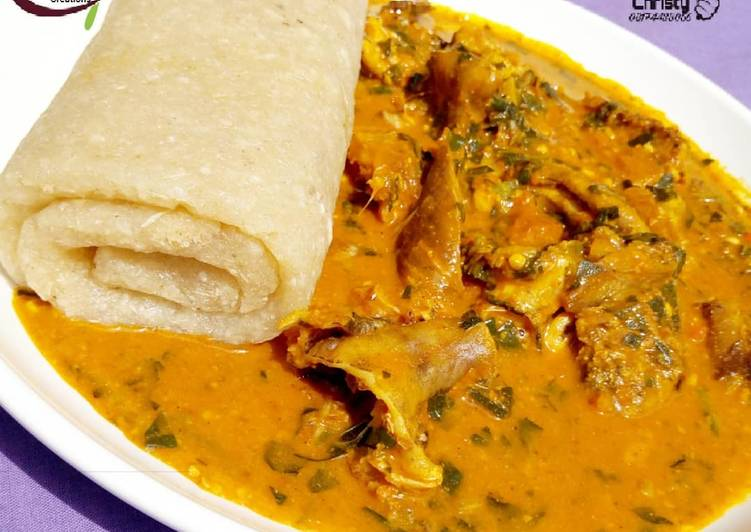 Recipe of Super Quick Homemade Ogbono soup