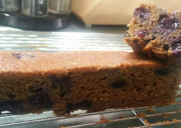 How to Make Favorite Blueberry Gingerbread