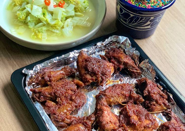 Ayam bakar oven