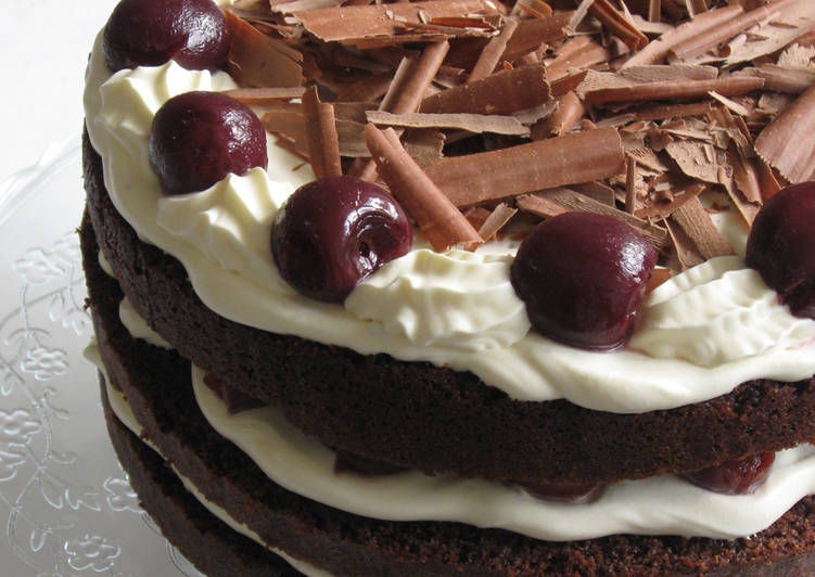 Recipe of Perfect Black Forest Cake