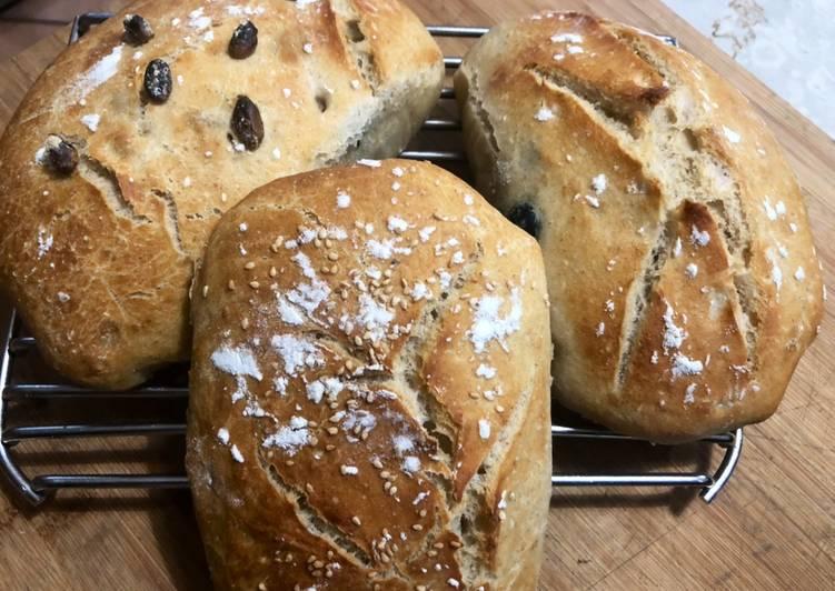 Ricetta Tris di pane