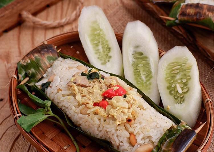 Nasi Bakar Cakalang Pedas #homemadebylita