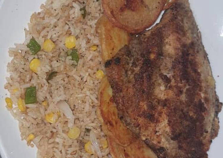 Recipe of Homemade Moist and Flavourful Pan Fried Tilapia