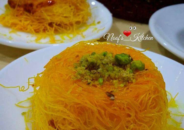 Resep Kunafa Kunafe Oleh Noof S Kitchen Cookpad