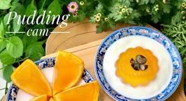 Hình ảnh món Ăn dặm- pudding cam, thạch cam mix sữa chua