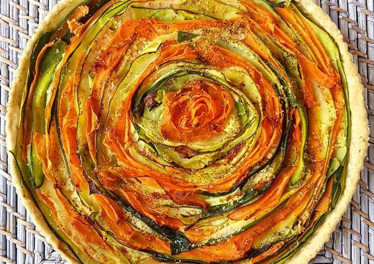 Comment Préparer Les Tarte mille-feuilles de légumes