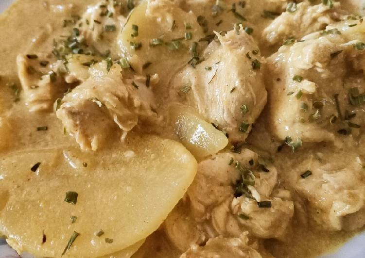 Poulet curry et pommes de terre #cookexpertmagimix