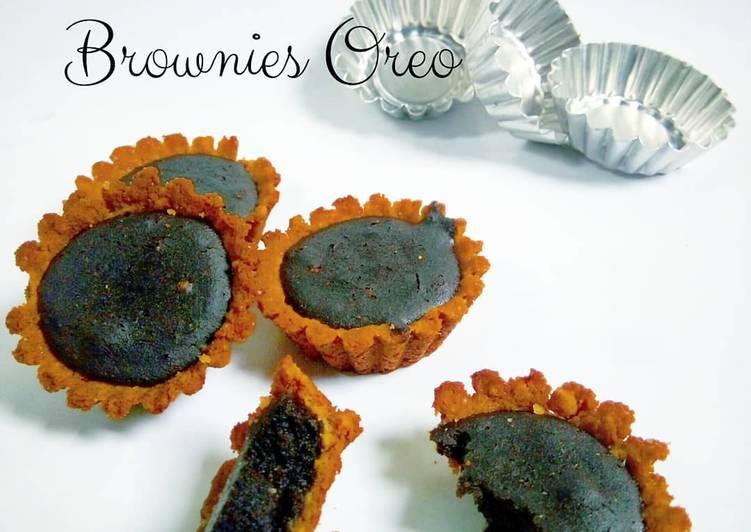 Resep Pie Biskuit Brownies Oreo Terenak