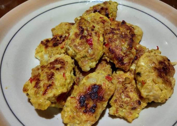 Chicken kofta tanpa santan-bisa untuk diet