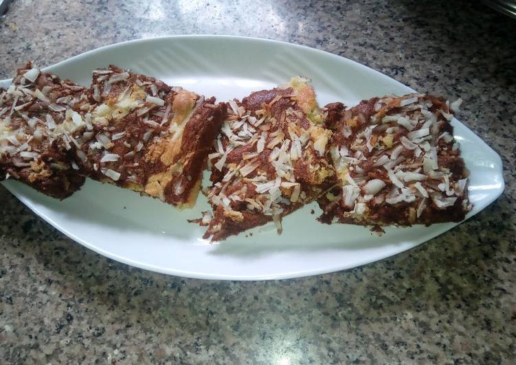 Recipe of Perfect Coconut sponge cake