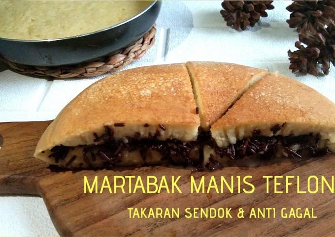 Martabak Manis Teflon Takaran Sendok