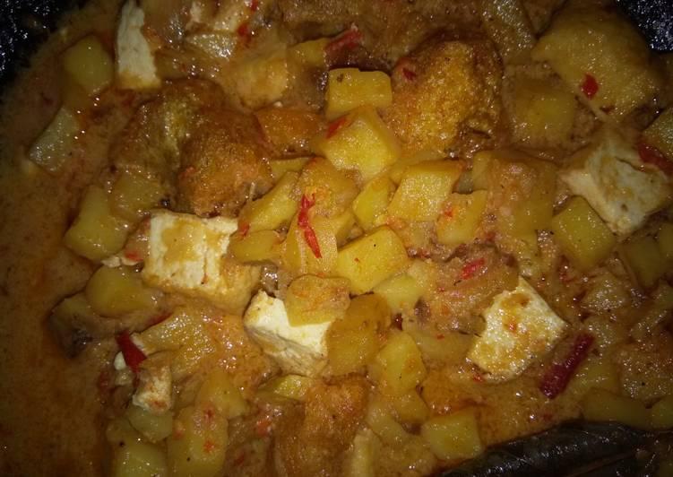 Sambal goreng kentang krecek