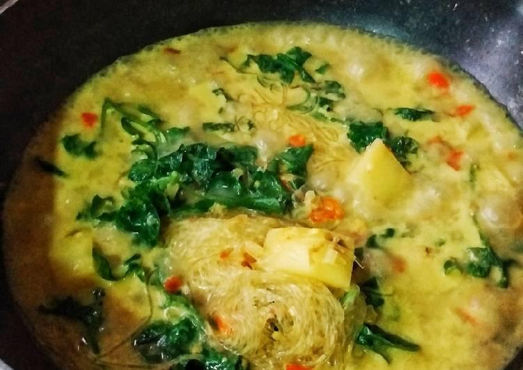☘🍃Bayam brazil masak lemak🥥