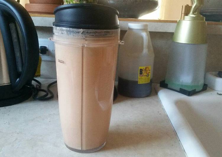 Recipe: Yummy High protein ginger carrot mango smoothie