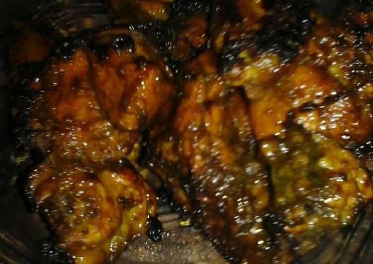 Ayam bakar teflon ala zhonto