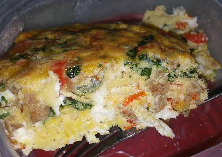 Spicy Italian Frittata