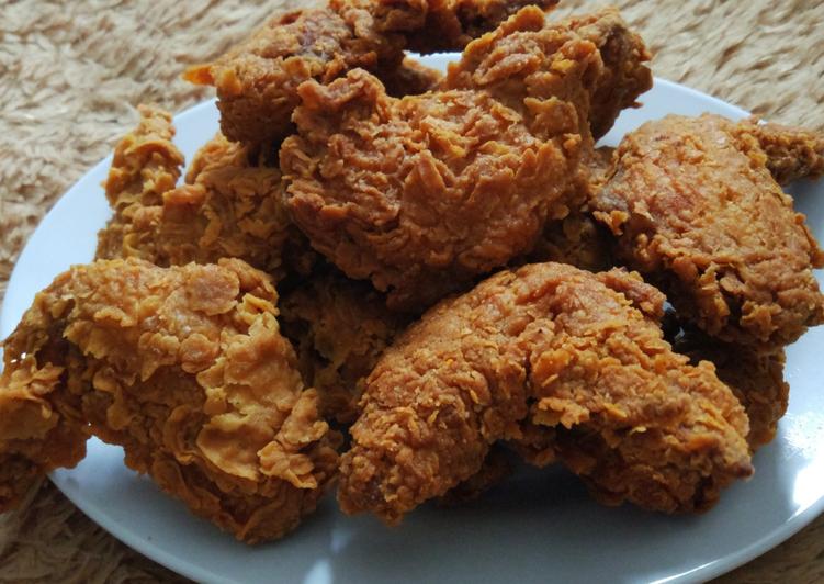 Cara Membuat Ayam Goreng Crispy KFC Kekinian