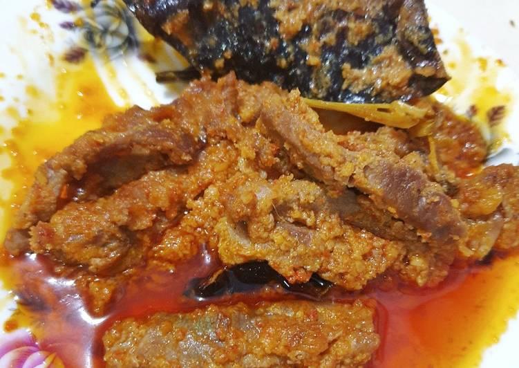 Daging sapi rica-rica (wangi rempah)