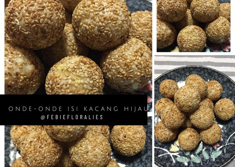 Onde-onde Panggang isi Kacang Hijau, Snack Sehat Balita