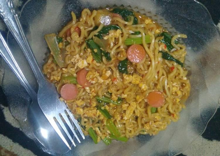 Resep Indomie Goreng Nyemek Bikin Ngiler