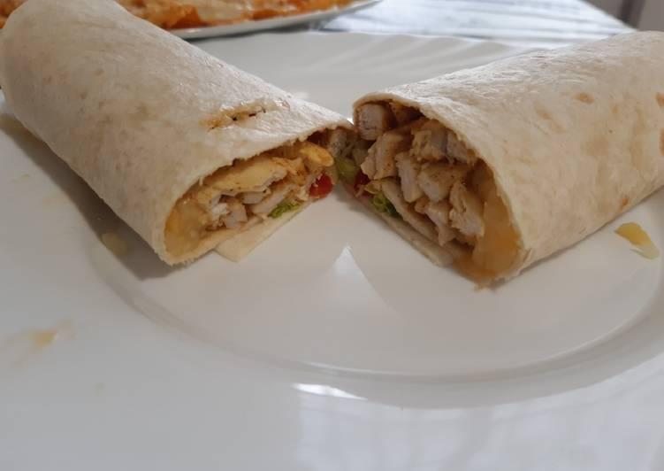 Easiest Way to Make Tasty Burrito mexicano