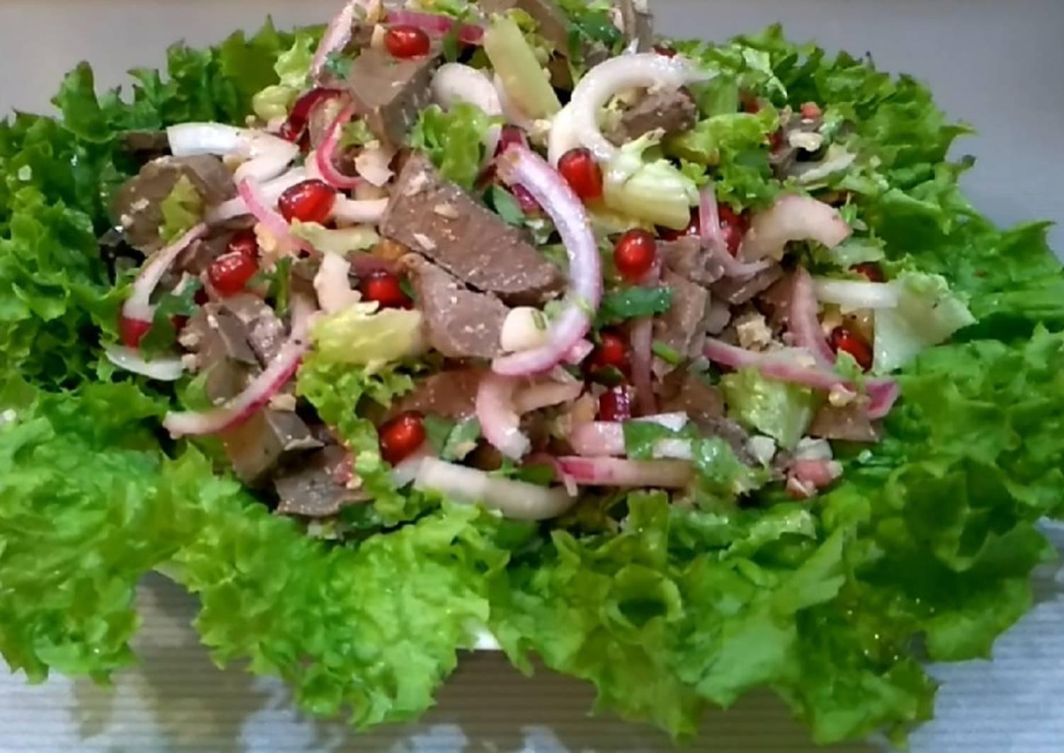 салаты из говяжьего сердца рецепты с картинками рядовка, подтопольник