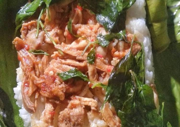 Nasi Bakar Ayam Teri Medan